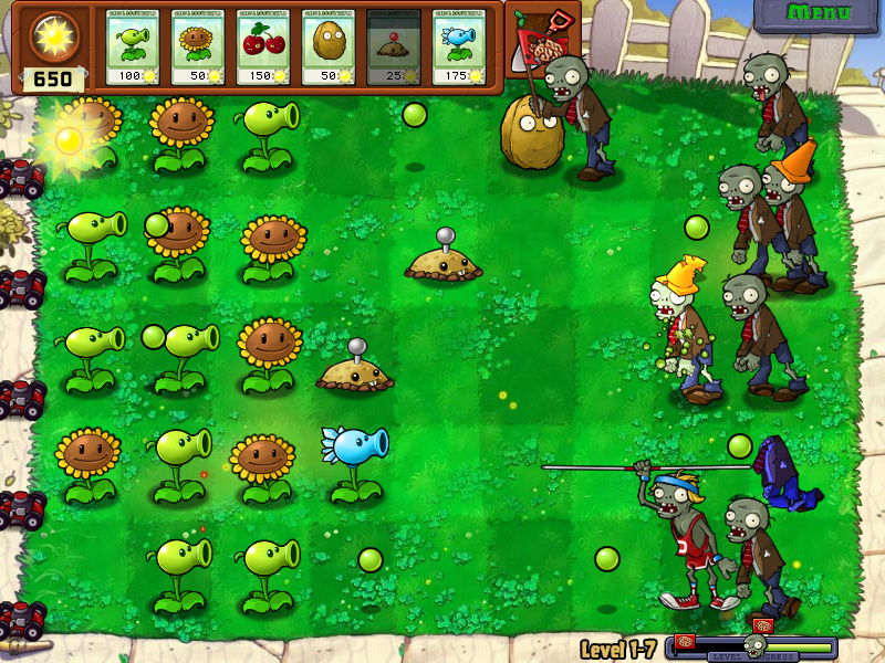 Plants vs zombies1