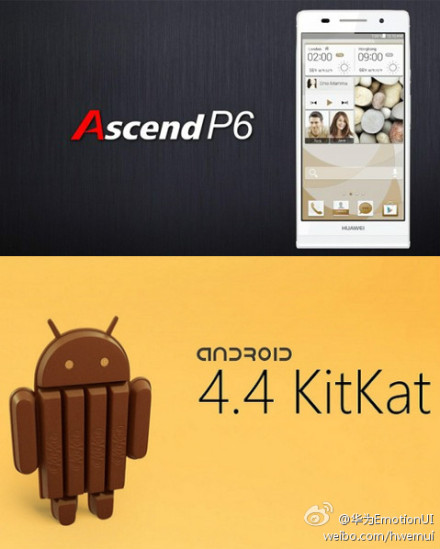 Huawei-Ascend-P6-Android-4.4-KitKat