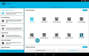 Rotation–Orientation-Manager
