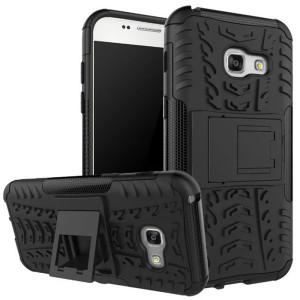 Для-Samsung-Galaxy-A3-2017-Case-Грязь-Устойчивостью-Кремния-Пластиковые-Назад-Amor-Чехол-Телефон-Сумки-Случаи
