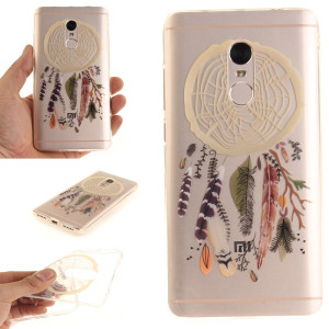 Высокое-качество-TPU-IMD-обложка-чехол-для-Xiaomi-Redmi-Note-4-чехол-для-телефона-цветок-полые