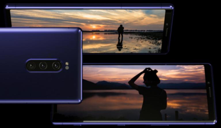 Sony Xperia 1 с 21_ 9 '4K'